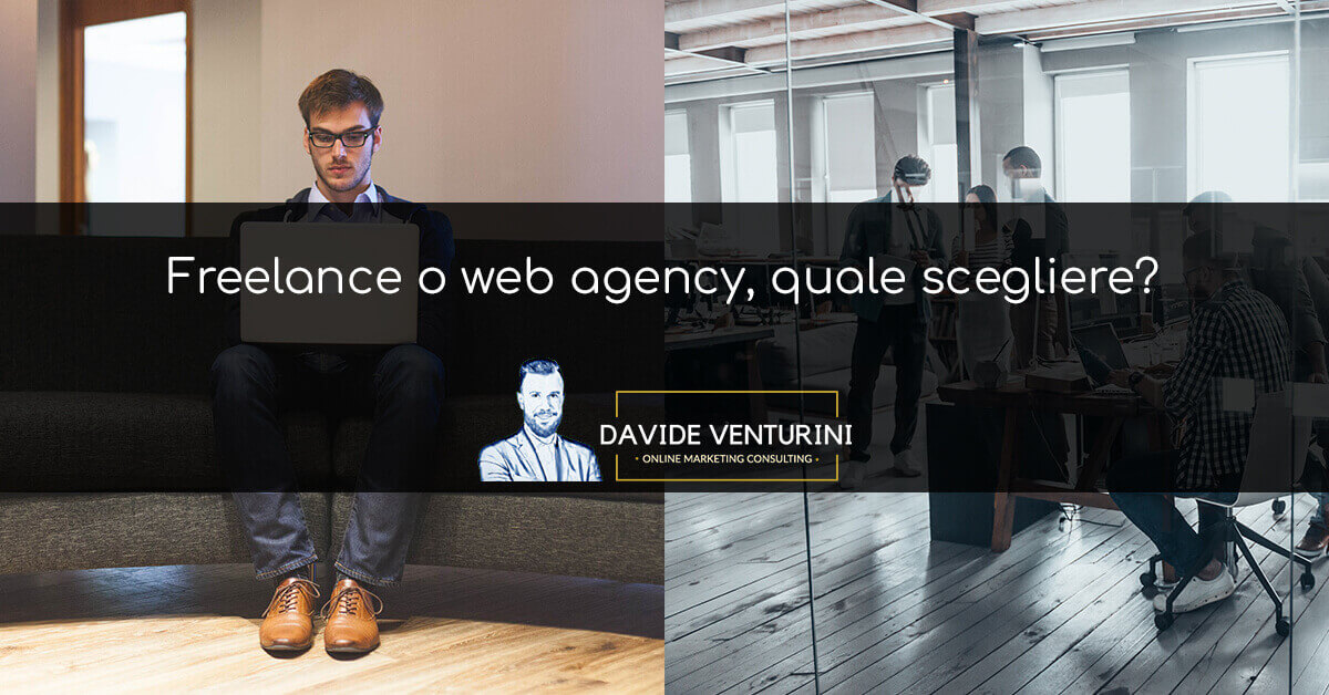 Differenza freelance web agency