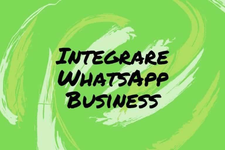 Strategie di marketing integrando whatsapp business