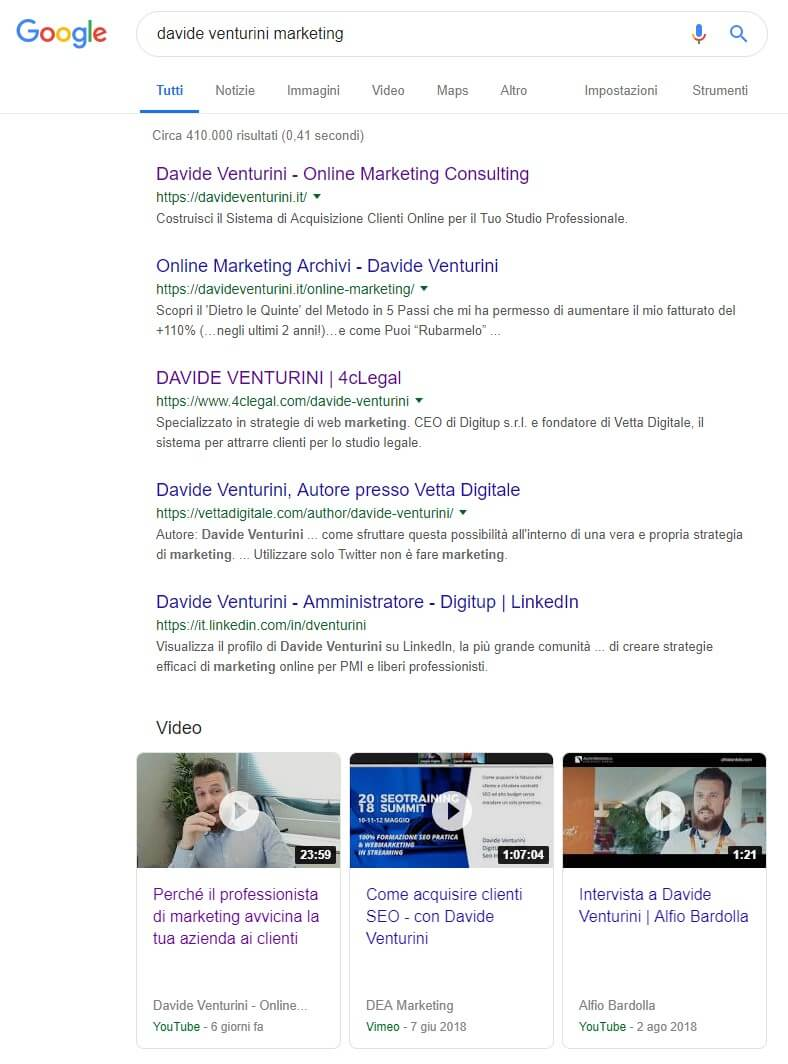 Video Marketing SEO